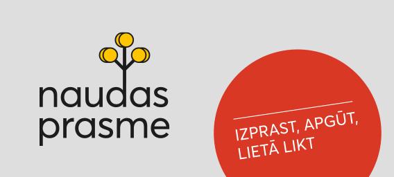 Zīmola Naudasprasme logo